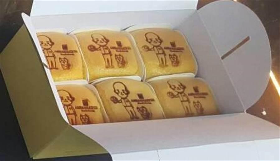 高雄國賓大飯店的外賣小棧還有販售印有市長韓國瑜的圖樣杯子蛋糕。(高雄國賓大飯店提供)