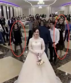 影》為接捧花婚宴變摔角場!二女大戰裙底洩春光