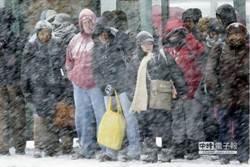 暴風雪橫掃美國39州 美東逾千航班停飛