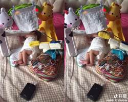 寶寶不睡怎辦?狂人自製哄睡神器 爸媽跪求做法