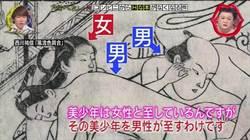 浮世繪驚見3P!專家:江戶時代男男戀是高尚嗜好
