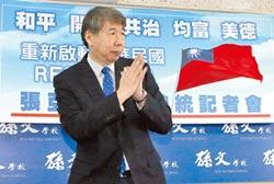 張亞中批民進黨在等投降式城下之盟