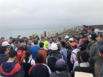 150米擠上千名釣客 蔡其昌促整體規劃北堤釣區