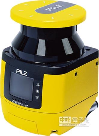 皮爾磁擴大廠區防護 推新安全雷射掃描器