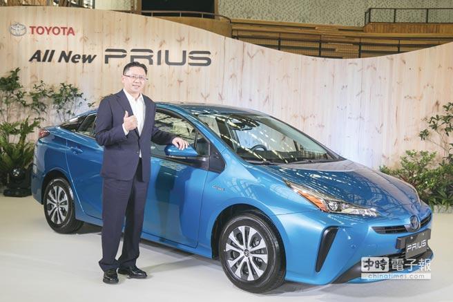 全新出擊! 日本原裝進口全新改款PRIUS。圖/業者提供