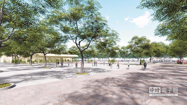 彰化縣政府爭取中央補助「城鎮之心」,「田尾迎賓之心規畫計畫」獲核定總經費1.5億元,將把田尾各公園綠地串連為一個完整主題。(吳敏菁翻攝)