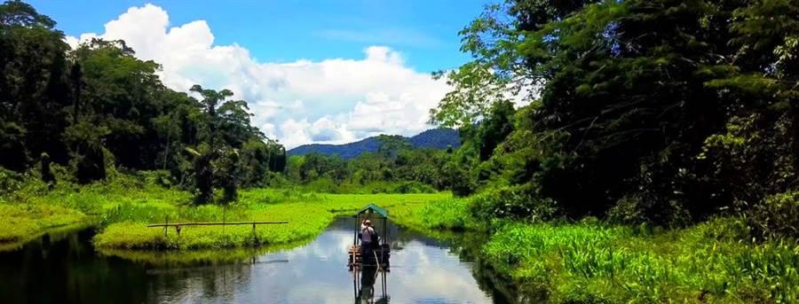 祕魯東部亞馬遜雨林區一間豪華飯店19日晚間驚傳遭一幫搶匪闖入,挾持40名中國大陸籍、美國籍遊客,目前已造成2死,警方正全力追捕。圖為位在祕魯東部的馬努國家公園亞馬遜雨林。(圖/shutterstock)