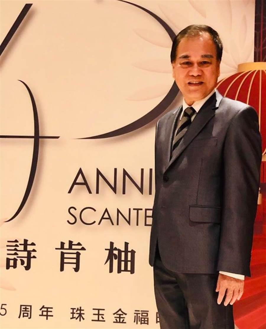 詩肯董事長林福勤仍看好台灣傢俱市場/圖/詩肯提供