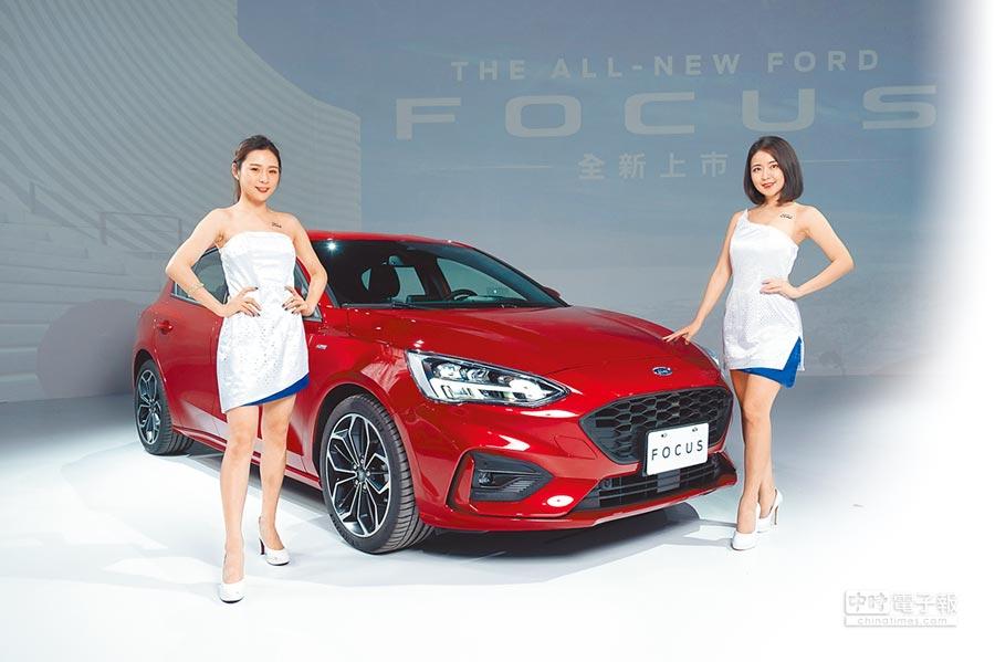 Ford Focus ST-Line 5門鋼炮車款,售價89.8萬元。(福特六和提供)