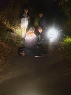 菜刀大盜偷遍北台灣 藏樹叢洗蹤跡 不敵空拍機落網
