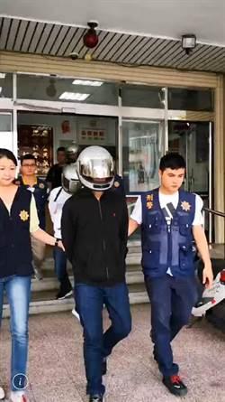 囂張! 竹東消防隊前飛車槍戰 警速逮3嫌1把手槍