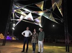 為2021台灣燈會作準備林智堅率團訪屏東燈會