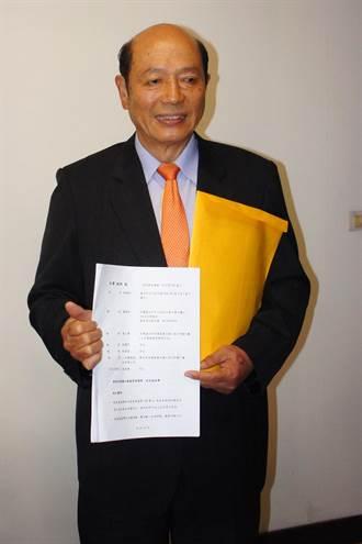 前檢察長林朝松控告黃越宏、三立電視誹謗 求償100萬