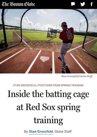 MLB》捕手是拿著相機的記者!林子偉打擊嚇到了
