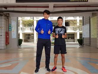 新化國中飛毛腿魏浩倫14歲創國中男子百公尺短跑新紀錄