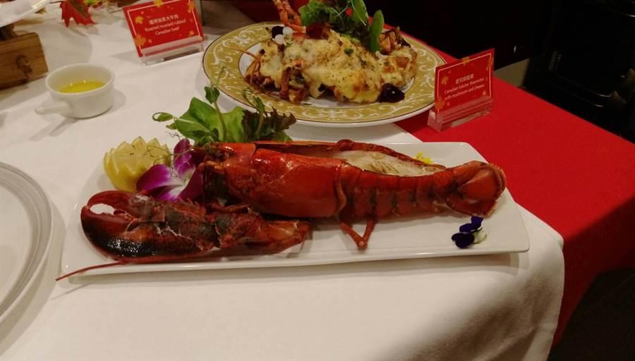 加拿大龍蝦。(張佩芬攝)