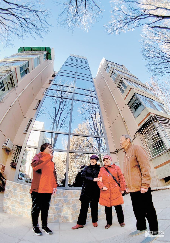 大陸1月首套房貸利率微降,北京等一線城市穩定。(新華社)