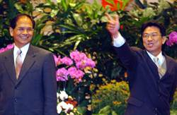 葉國興回鍋國安會 扁朝時對媒體連比槍斃姿勢惹議