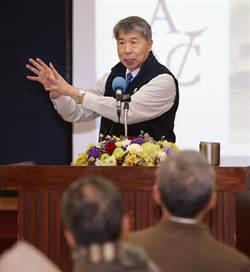 張亞中12小時不斷電 發表參選總統理念