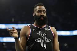 NBA》受傷又生病 哈登將持續缺陣