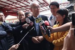 吳敦義南下挺謝龍介 是否選總統不鬆口