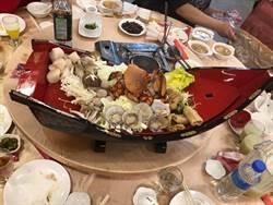 每人1桶冰不夠看!台南喜宴這些霸氣菜色 狂到逆天