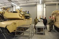強上加強 美軍安裝主防系統的M1A2戰車首度公布