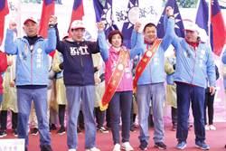 大咖齊聚站台 洪麗萍競選總部成立