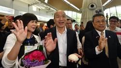 馬來西亞韓粉拿「包子」接機有原因!韓國瑜比讚回6字