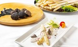 華國牛排館 獻上黑松露、白蘆筍
