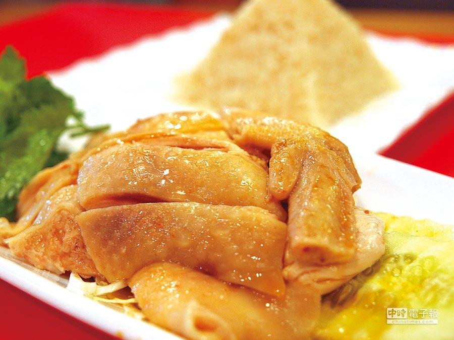 新加坡打響了海南雞飯名號,但據說源於大馬。(記者王曉鈴攝)