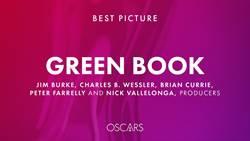 奧斯卡/第91屆奧斯卡完整得獎名單 《幸福綠皮書》奪最佳影片