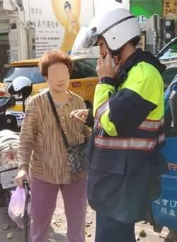 7旬婦人市場迷失 台中熱心員警護送到家
