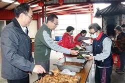 樹林東山里老人共餐飄香  南亞塑膠長期贊助