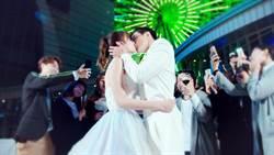 禾浩辰、安心亞上演「冠軍之吻」 為「臉紅」快搞死自己