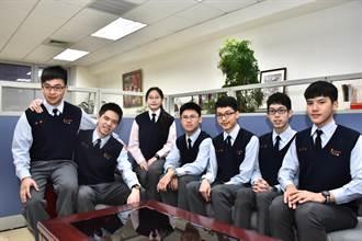 108年學測成績  南山高中五科75滿級分5人
