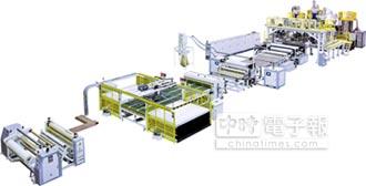 鳳記新推三層共擠板材製造機