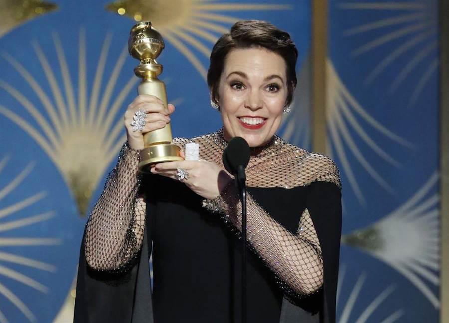 奧莉薇雅已先拿下金球獎音樂喜劇類最佳女主角。(資料照)