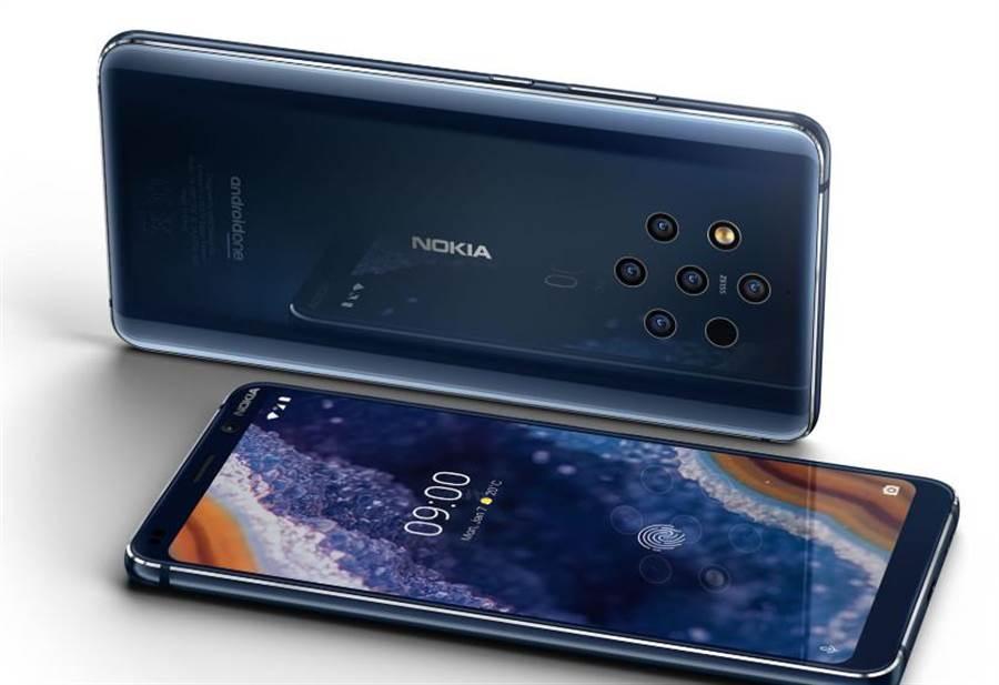 超越華為 Nokia發表五攝手機但沒搭高通S855