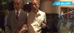 地產大亨黃志祥握手親迎! 韓國瑜午宴不忘拚招商