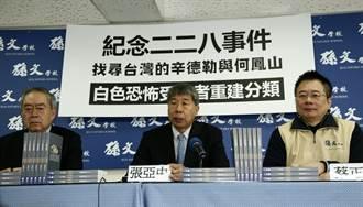 張亞中:白色恐怖受難者不該雞兔同籠