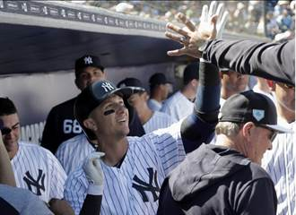 MLB》一吐鳥氣!洋基老屠首打席開轟