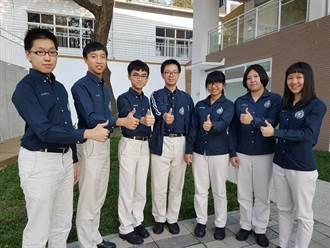 華盛頓中學4科60滿級分3人、5科75滿級分1人