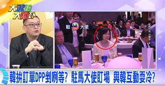 《大政治大爆卦》 韓拚訂單DPP剉咧等?駐馬大使盯場 與韓互動耍冷?