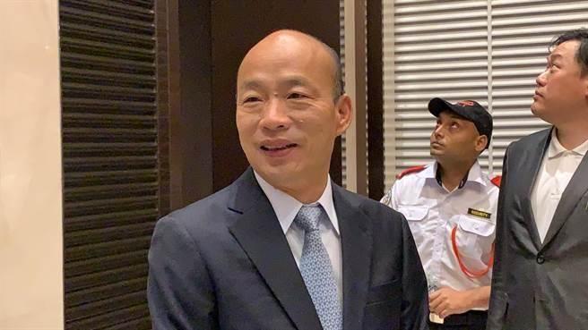 晚宴沒吉隆坡市長,早餐會當地議員也沒出席,高雄市長韓國瑜25日證實有多個行程因故喊卡,有點可惜但尊重。(圖/中時資料照柯宗緯攝)