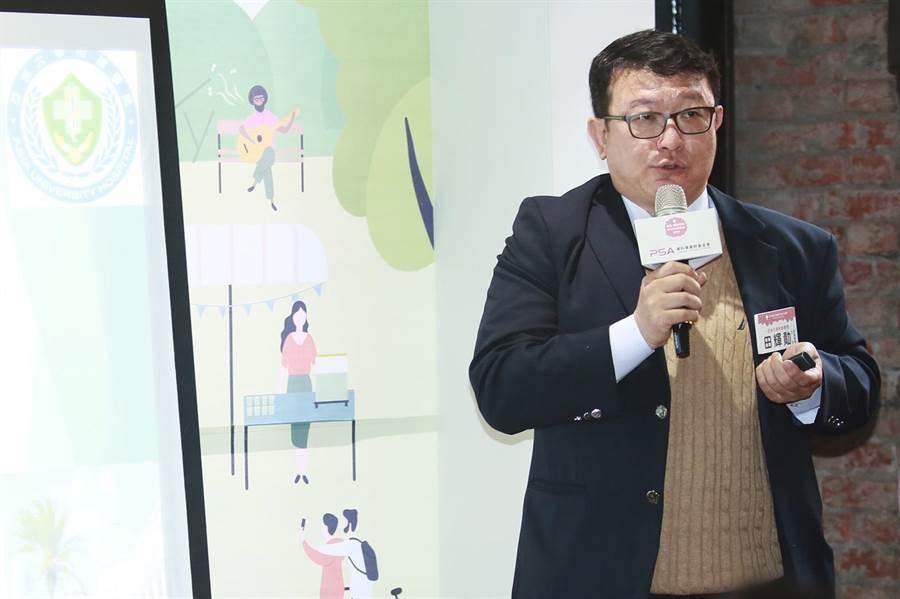 亞洲大學耳鼻喉及聽力專家田輝勣醫師。(凱格蘭公關提供)