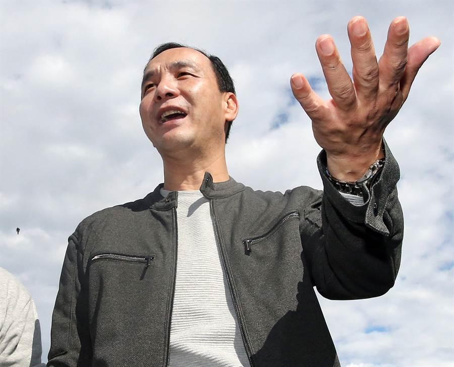 前新北市長朱立倫。(圖/資料照片,范揚光攝)