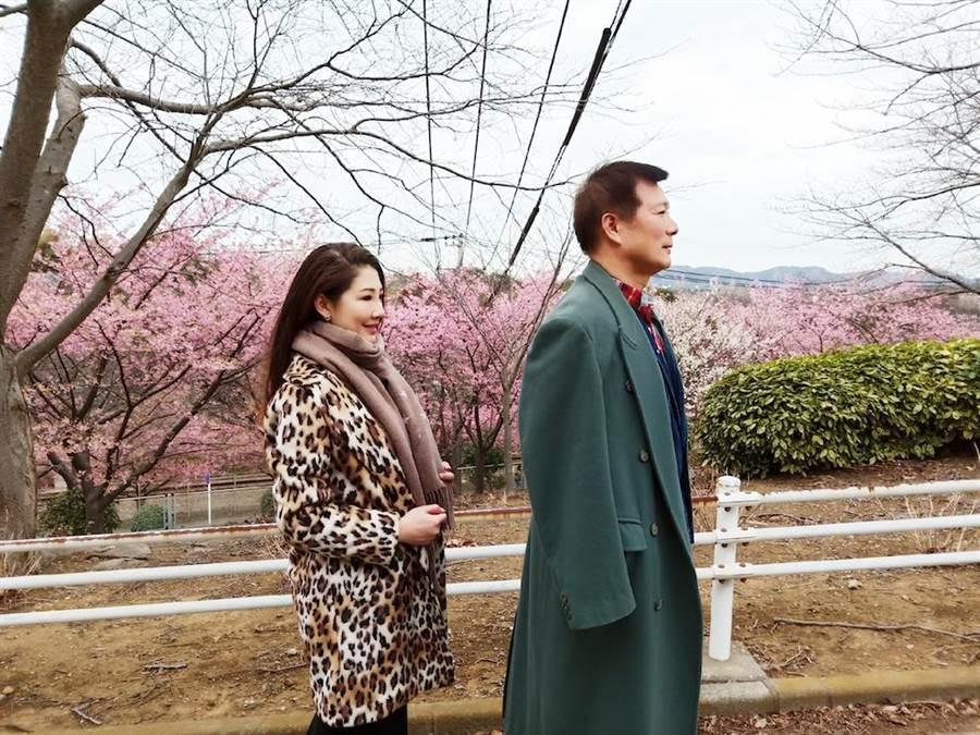 林書煒和蔡詩萍上演「東京愛情故事」。(林書煒提供)