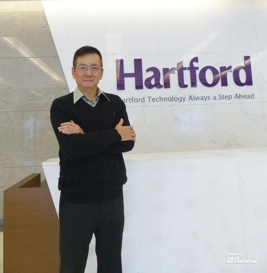 協鴻公司總經理葉新華。圖/莊富安