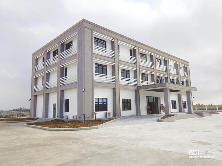 越南河靜「奇興工業區」廠商服務中心。圖/工業區提供